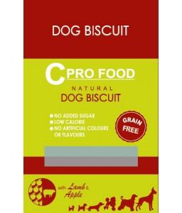 C PRO FOOD - DOG BISCUIT - LAMB & APPEL - 400 G